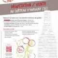 Dégustation-Vente des Artisans Vignerons de Bourgogne du Sud le 8, 9 et 10 novembre 2014